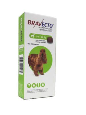 Bravecto >10 a 20 Kg