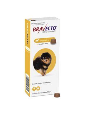 Bravecto 2 a 4.5 Kg