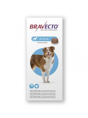 Bravecto >20 a 40 Kg