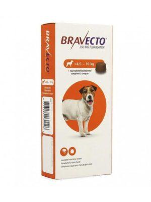 Bravecto >4.5 a 10 Kg