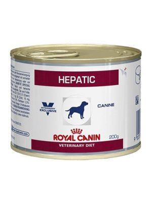 Royal Canin Hepático Alimento en Lata 200g x 12 Unidades