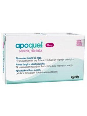 Apoquel 16 mg-Tratamiento Dermatitis Alérgica x 10 Tabletas