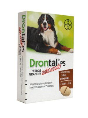 Drontal Plus Perros Adultos Grandes Caja x 1 Pastilla