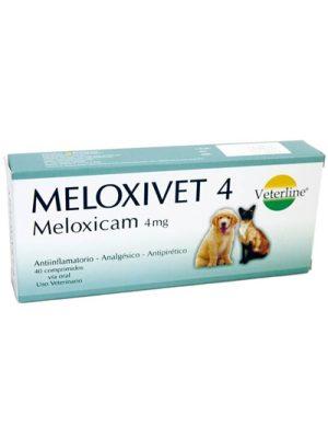 MELOXIVET 4mg Veterline Perú Meloxicam x 1 Comprimido