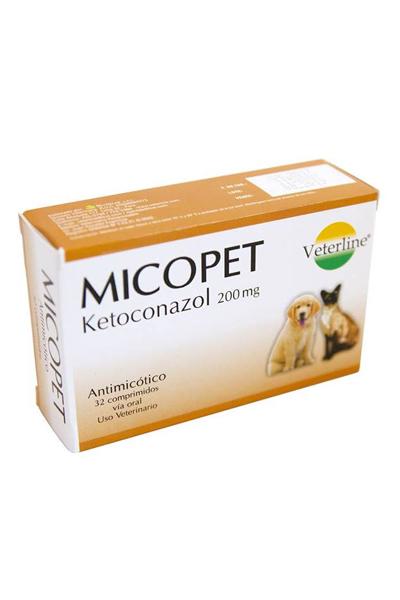 Micopet Ketoconazol 200 Mg Animarket Farmacia Veterinaria