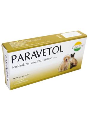 Paravetol – Antiparasitario Interno para Perros y Gatos