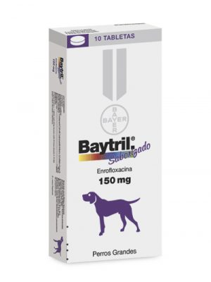 BAYTRIL 150 mg Enrofloxacina Oral
