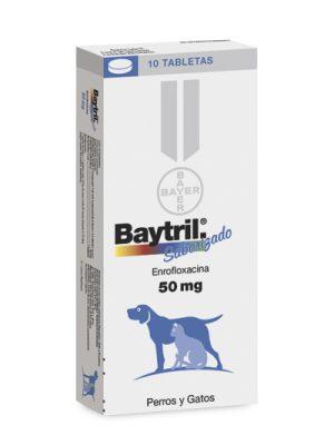 BAYTRIL 50 mg Enrofloxacina Oral