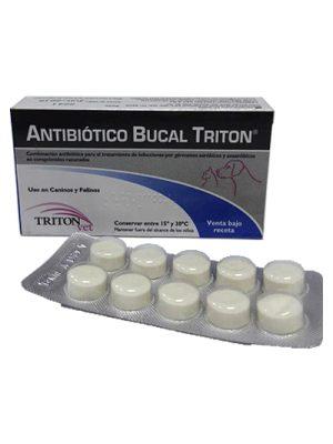 ANTIBIOTICO BUCAL Triton x 20 tabletas