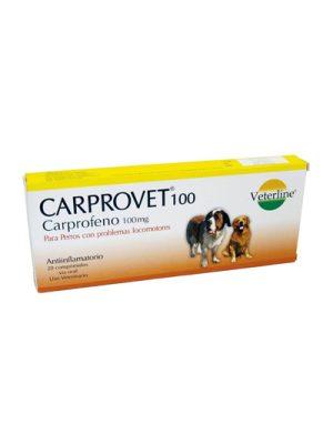 CARPROVET 100 MG -Blister x 10 tabs-Carprofeno perros