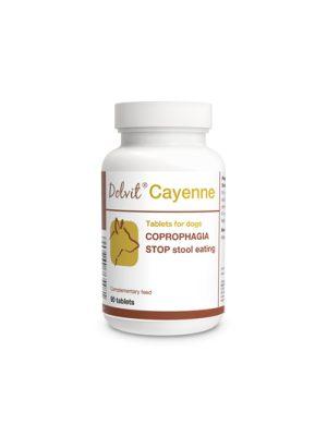 DOLVIT CAYENNE Dolfos (Elimina ingesta de heces en Perros -Coprofagia)x 90 comp