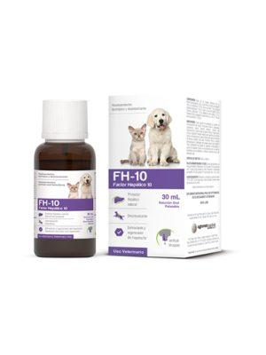 FH-10 FACTOR HEPÁTICO 10 x 30 ml-Hepatoprotector
