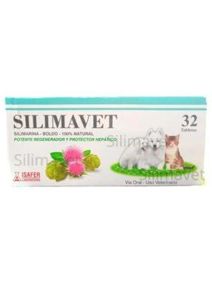 SILIMAVET Isafer x 32 tabletas- Silimarina 100 % Natural
