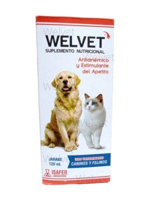 WELVET Jarabe Antianemico para perros x 120 ml